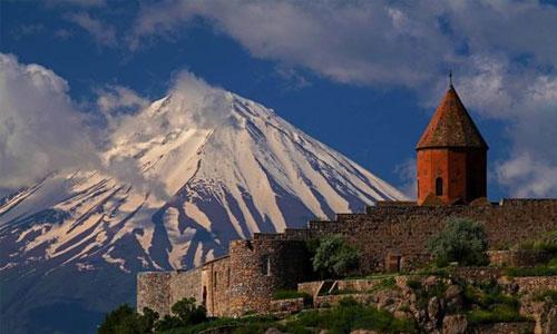 ارتفاعات شرقی ترکیه کوه ارارات