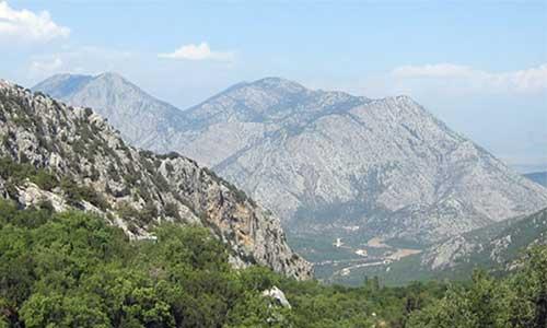 رشته کوه های آناتولی