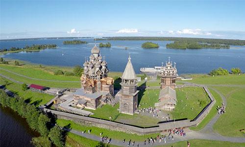 جاذبه گردشگری روسیه - جزیره کیژِی روسیه