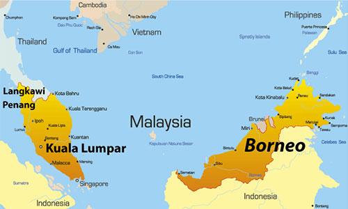 مالزی غربی و مالزی شرقی
