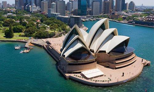 اماکن دیدنی سیدنی - تالار اپرا