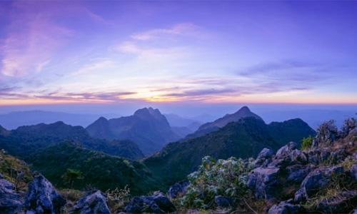 کوه های تایلند - Doi Chiang Dao