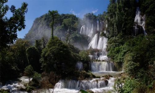 کوه های تایلند - Doi Ma Mueng Sam Muen