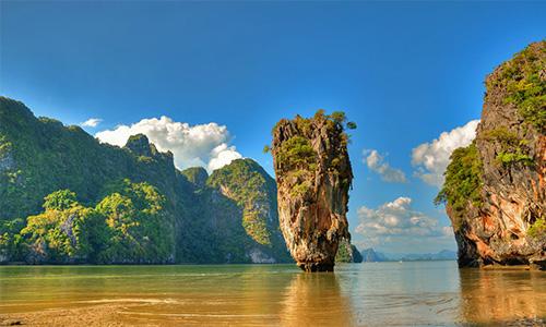 ساحل Phang Nga Bay تایلند