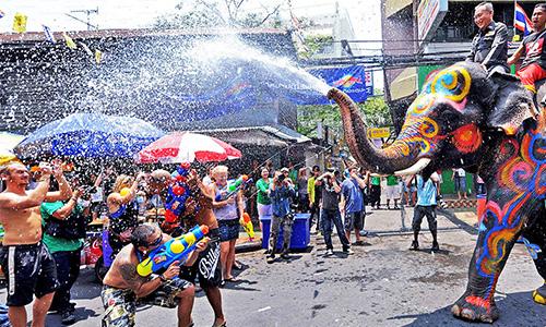 جشنواره Songkran تایلند