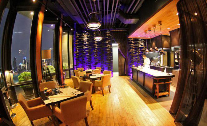 رستوران های بانکوک - رستوران المنت