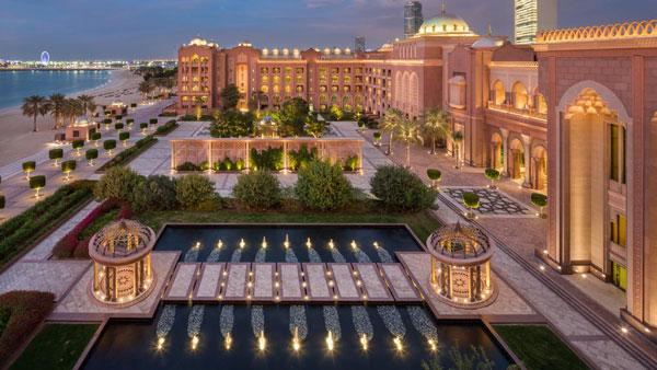 هتل های ابوظبی - EMIRATES PALACE