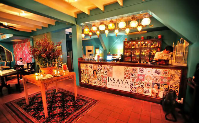 رستوران های بانکوک -رستوران کلاب ایسایا سیامس کلاب