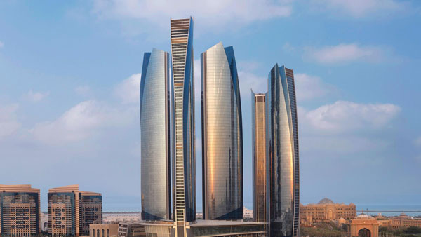 هتل های ابوظبی - JUMEIRAH AT ETIHAD TOWERS HOTEL